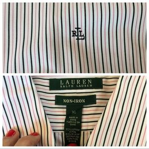 Lauren Ralph Lauren Tops - Quick Look RL Button Downs XL